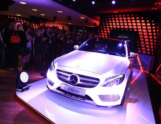 Sneak preview GLA et Classe C Mercedes-Benz